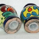 Mexican Talavera Pottery Salt Pepper Shakers