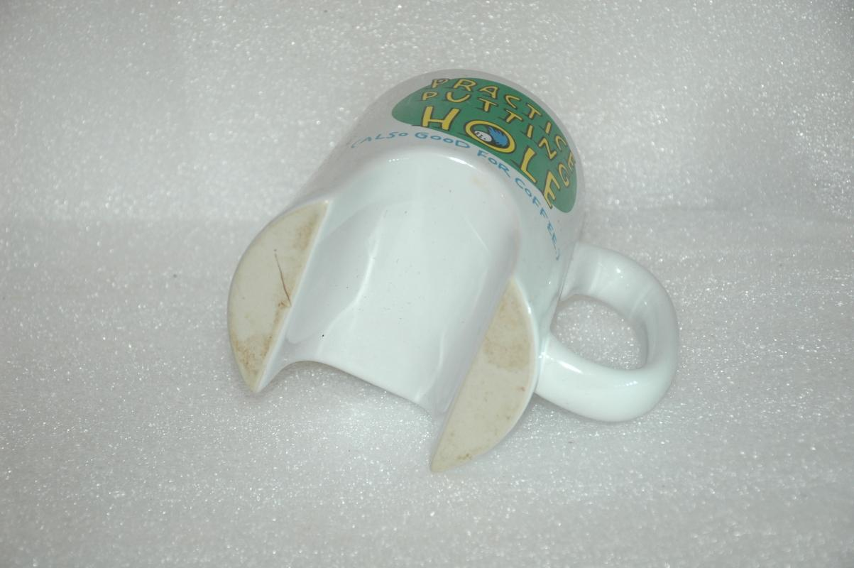 Golf Practice Putting Coffee Mug by Shoebox Designs