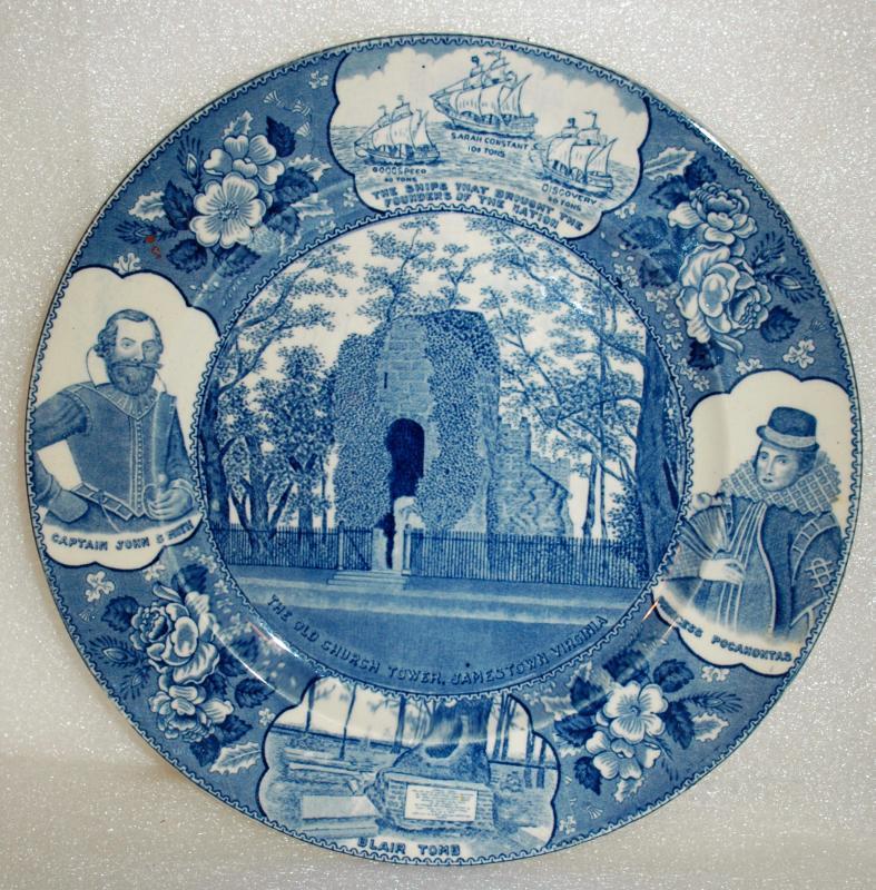Adams Jamestown Virginia First English Settlement Commemorative 10.5