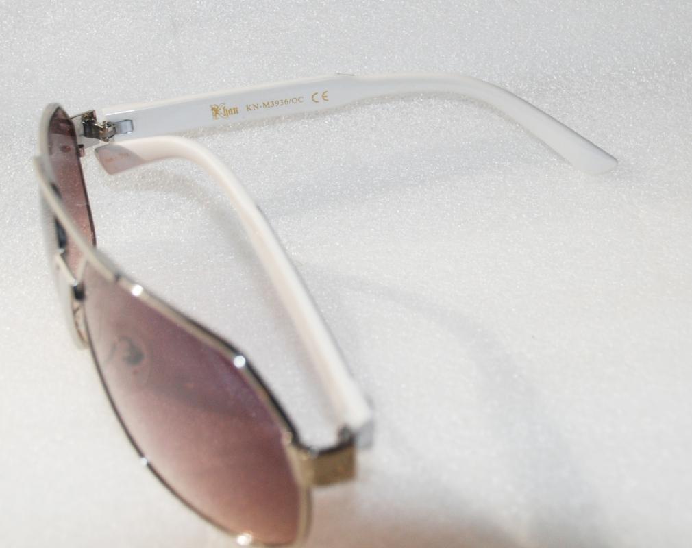 Khan Fashion Men's   Aviator Style Sunglasses
