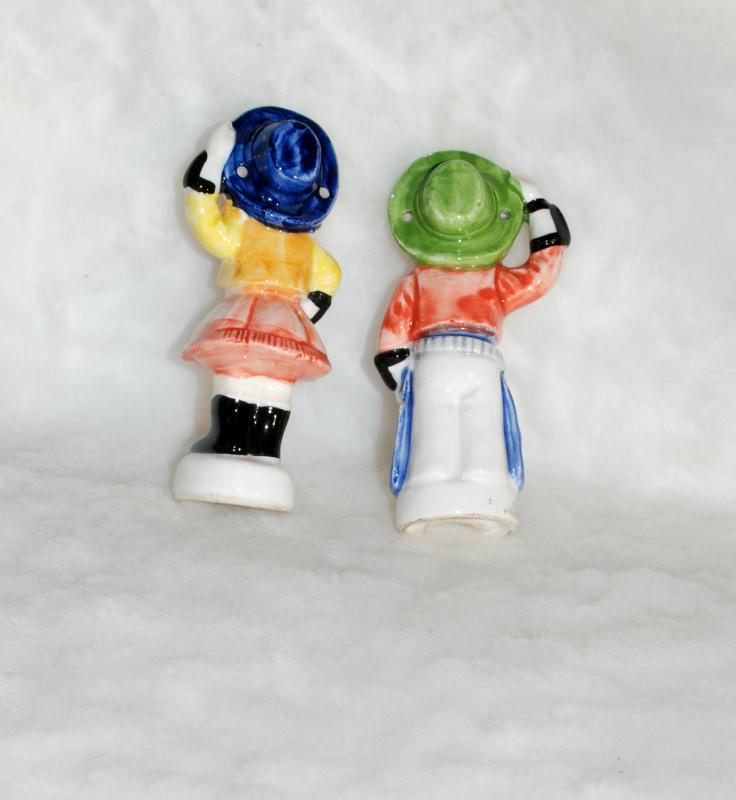 Cowboy and Cowgirl  Salt Pepper Shakers,