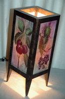Fruit Panels Accent Lamp