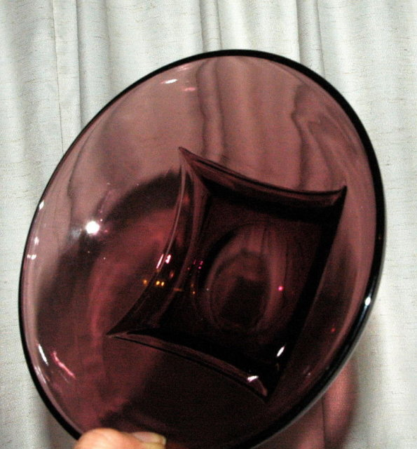 Set of Four Hazel Atlas Glass MOROCCAN AMETHYST 6