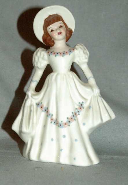 Florence Ceramics Southern Bell Figurine