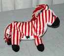 Democratic  Lefty 2000 Stars and Stripes Beanie Baby Donkey