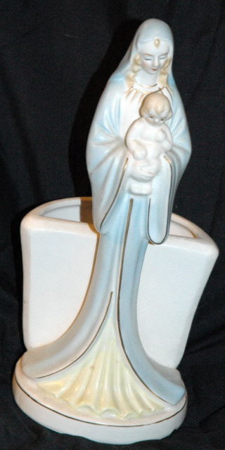 Virgin Mary & Baby Jesus Planter Napco   PRICE REDUCTION!**