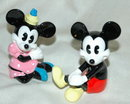 Mickey & Minnie Mouse figurines.  Made in Japan *PRICE REDUCTION!!*