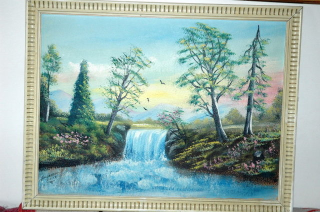 Landscape Painting  by Clyde R . Anderson 1959   * PRICE REDUCTION!*