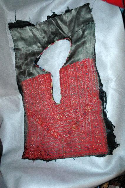 Antique Fine Needle Point  Men's Yoke Collar