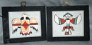 1970's New Mexico Native American  Sand Paintings