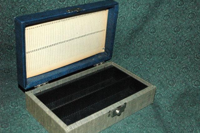 Slide Case, vintage  portable slide storage case.