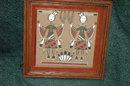 Navajo Yei  Be Chi  Sand Painting Gladys Bui