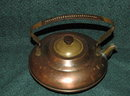 Copper Brass Tea Kettle Made in Holland