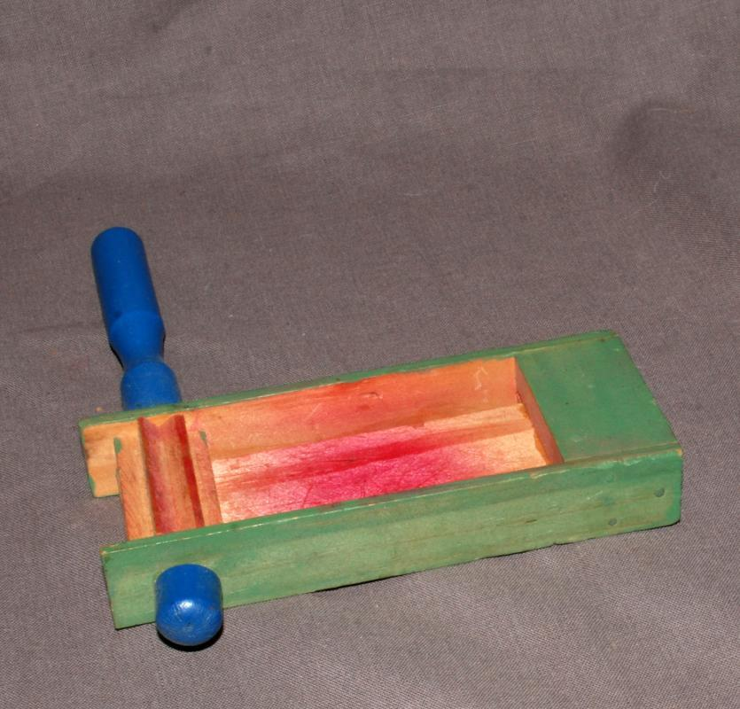 Painted Wood, Wooden Party Noise Maker