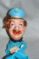 Vintage Captain Hand Puppet   **PRICE REDUCTION! ***