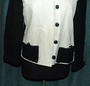 Vintage Leather & Knit Sweater, Jacket  (hand made)  *PRICE REDUCED *!!
