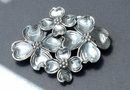Sterling Silver Dogwood Blossom  Brooch -Beau