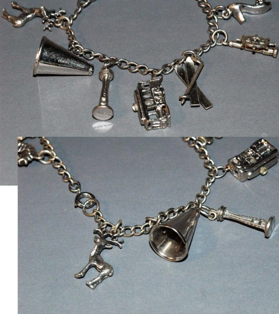 Charm Bracelet Seattle Theme & other Charms