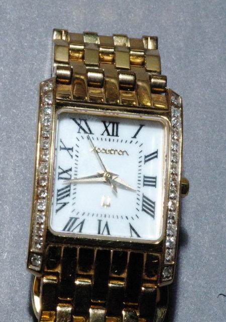 Ladies Accutron Diamond Watch