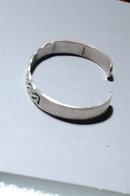 Celtic Weave Sterling Silver Cuff Bracelet 24gm