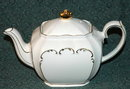 Windsor Made in England Rectangular Tea Pot
