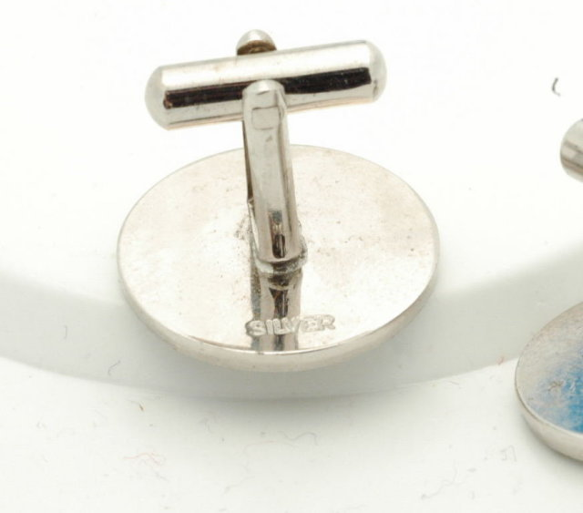 Sterling Silver Ship Wheel &