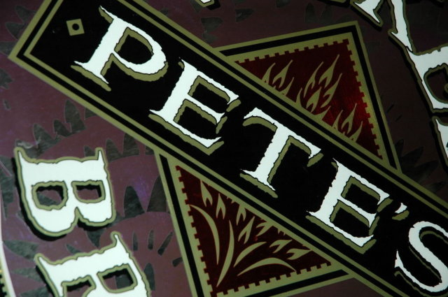 Rare Pete's Wicked Brews Beer Bar Mirror Sign  **PRICE REDUCED!*