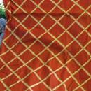 Mid-Century Cohama Vat Screen Print  Decorator Fabric Pomp Ano Bamboo Over 4 yards x 54