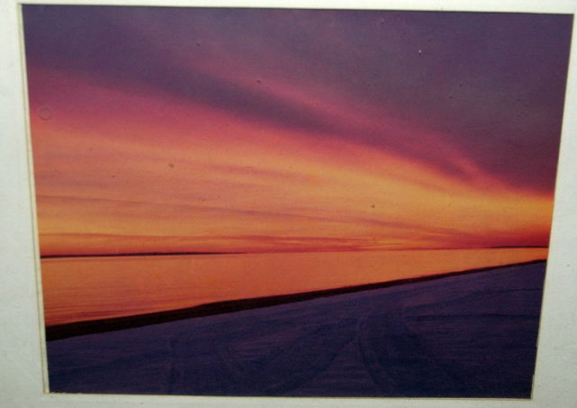 Photograph Purple Orange Sunset  Seashore