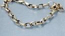 Yellow Gold Link  Charm Bracelet  7 1/2