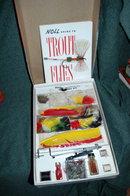 Vintage Knoll Fly Tying Kit /board etc in Box