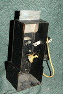 Antique Toy Pay phone by Structco Toys Co.