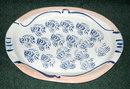 Signed Pottery Fish Platter  Art  Pottery Signed La Rua