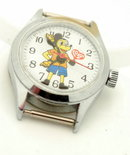 Vintage Love Heart  Mikey Mouse Watch -Likson
