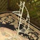 Kashmiri Flatweave Area Rug Floral Hand Woven Chain Stitch   8'x10'