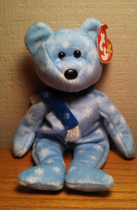 Ty Beanie Baby - 1999 Holiday Teddy (bear)