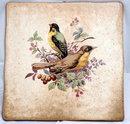 Old West Germany Ceramics Bird Tile *REDUCED PRICE*