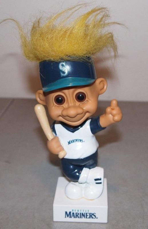 SEATTLE MARINERS  Bobblehead Nodder Troll  1992  Russ