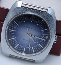 Caravelle Automatic Watch  Blue dial -WR