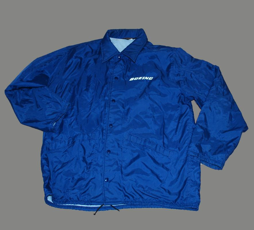 1960's BOEING 727 BLUE JACKET BY PLA JAC DUNBROOKE SIZE Large 44-46USA