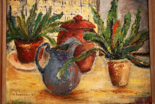 Impressionism  Oil Painting The Blue Pitcher    *** PRICE REDUCED!***