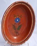 Vintage Mexian  earthenware pottery bowl *Price Reduced!*