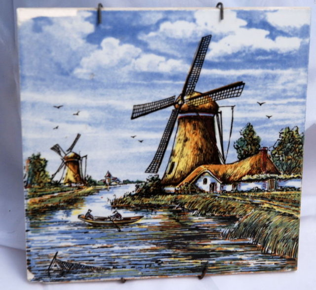 Hand painted Delft Tile
