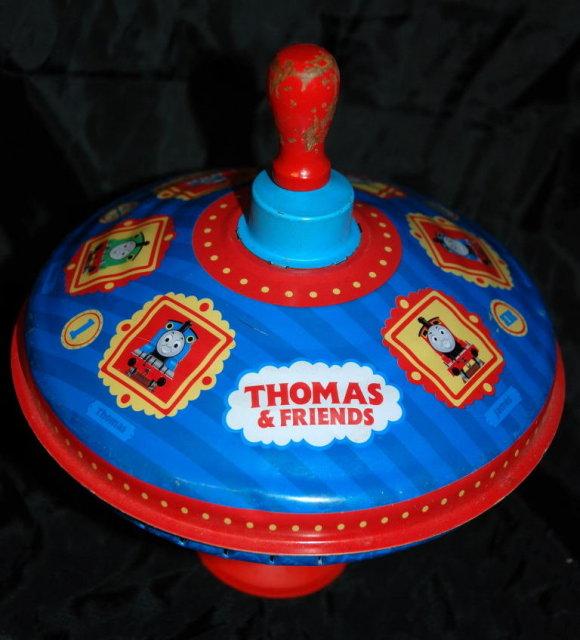 Thomas the Tank Spinning Metal Top that hums