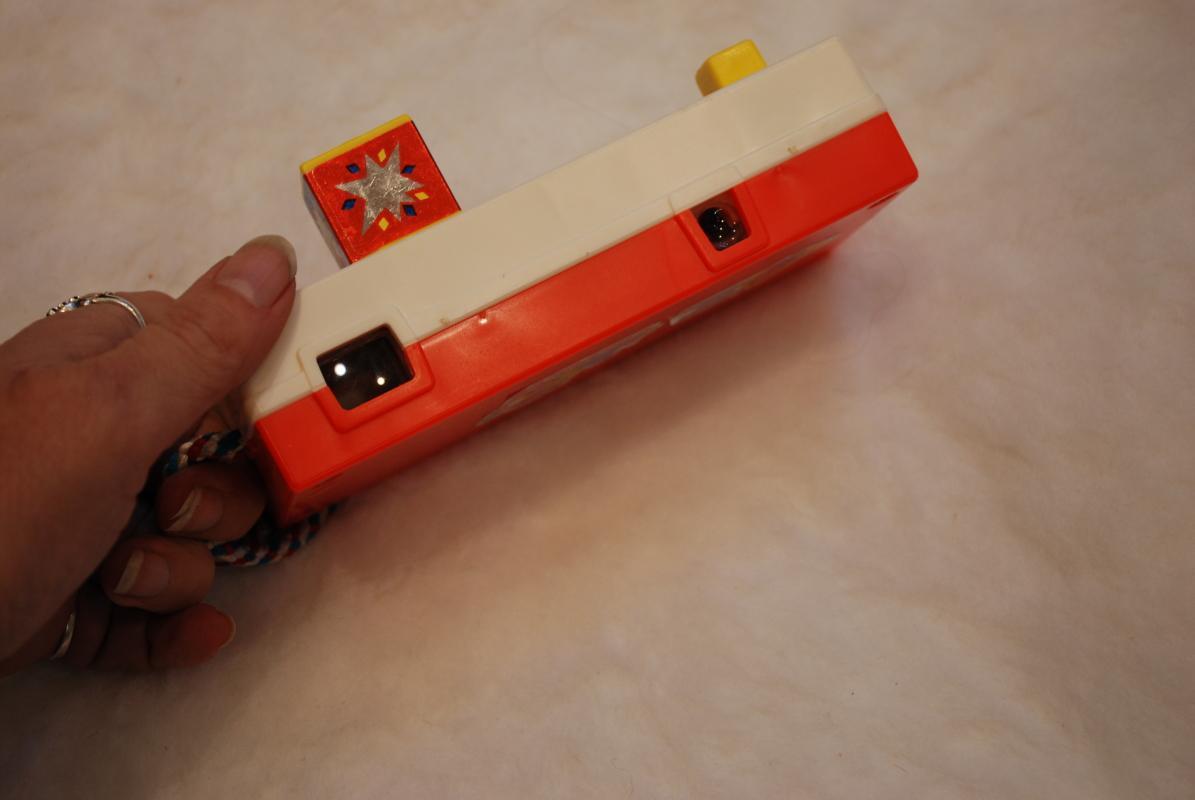 1970s Vintage Fisher Price Toy Pocket Camera