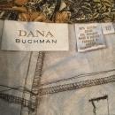 Dana Buchman Women's Pants Size 10 Stretch Jungle Leaf Print