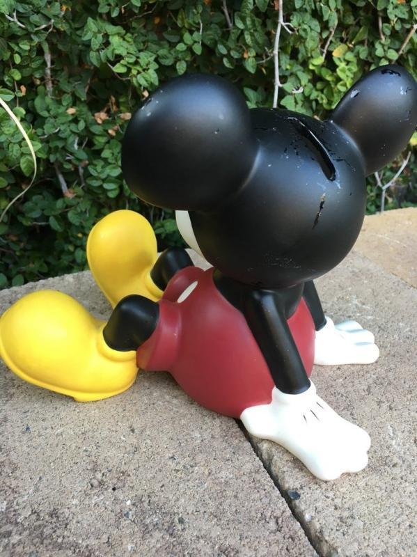 Vintage 1980's Enesco Mickey Mouse porcelain bank