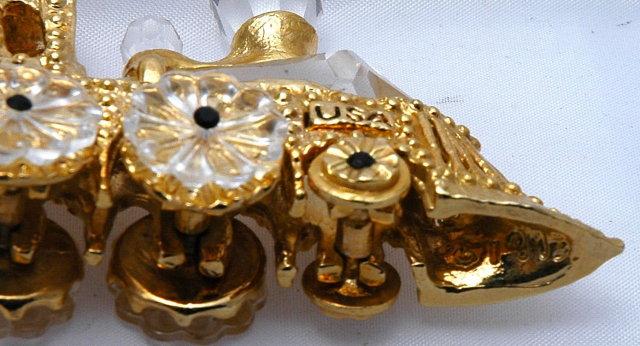 SWAROVSKI Crystal & Gold Plated Locomotive