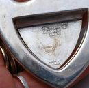Sheffield Company  Pineapple  3 spire silver plate  CASSEROLE SPOON REST