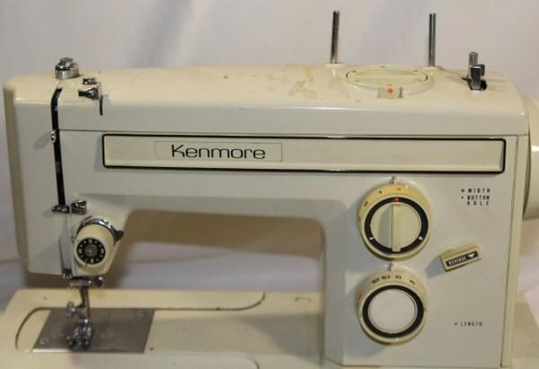 Kenmore Sewing Machine  Free Arm 158-1212